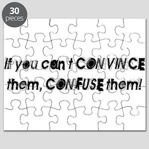CONFUSE THEM [1 black] Puzzle